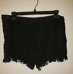 Mossimo lace shorts